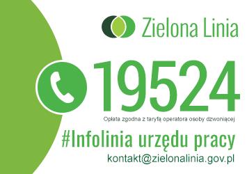 """Baner Zielona Linia """"https://zielonalinia.gov.pl/"""""""